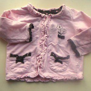 Pink Vest Girl 36 month Fits 2T